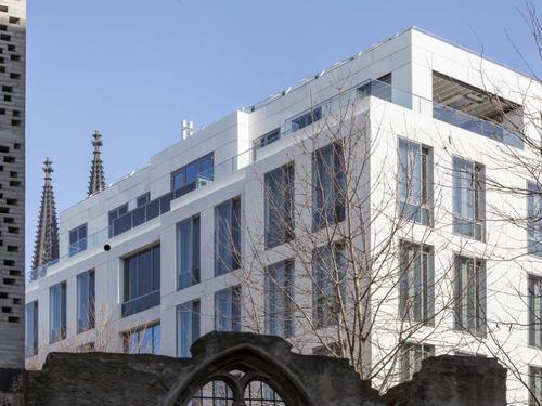Fassade für WDR mediagroup Stammhaus, Köln