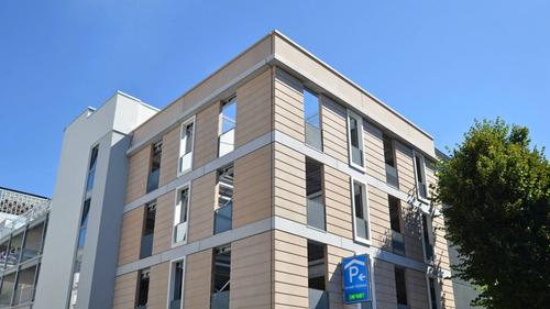 Fassade aus Architekturbeton für Karstadt Parkhaus, Bad Homburg