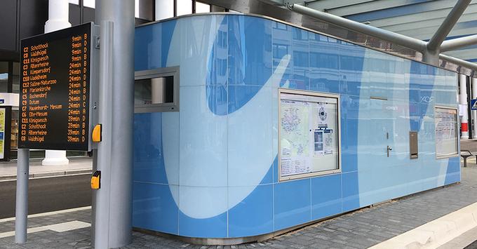 Nieuwe Wc Installeren.Zwierige Verbouwing Nieuwe Wc Installatie Voor Busstation In Rheine