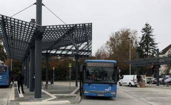 HERING-Dächer für Busbahnhof Ramstein