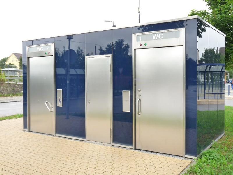 Hering geautomatiseerde openbare toiletten for Wc ontwikkeling