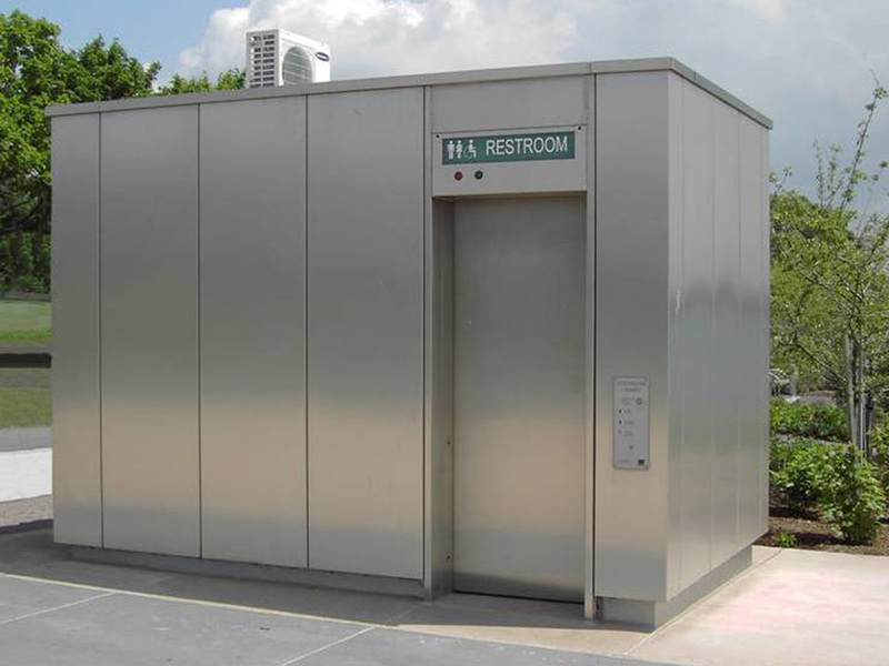 Hering Automatic Public Toilets Are Free Standing Units