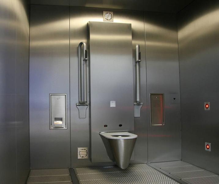 Ge ntegreerde toiletvoorziening flexi kit for Wc ontwikkeling