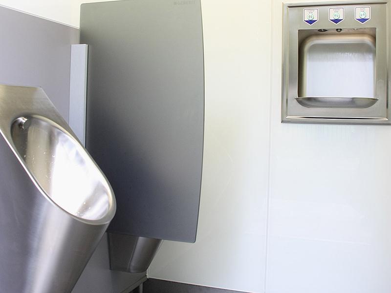 wcmatic premium wc vollautomatische ffentliche toilette. Black Bedroom Furniture Sets. Home Design Ideas