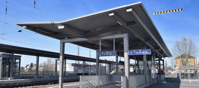 """Bahnsteigdach Typ """"Zwiesel"""""""