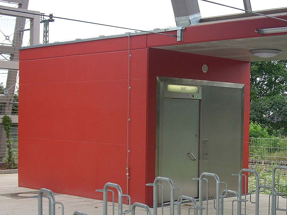 WC intégré Flexi Kit, Bad Duerrenberg, dessin Agentur BahnStadt GbR