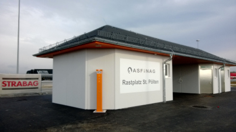 New Car Park Toilet Facilities For Austria