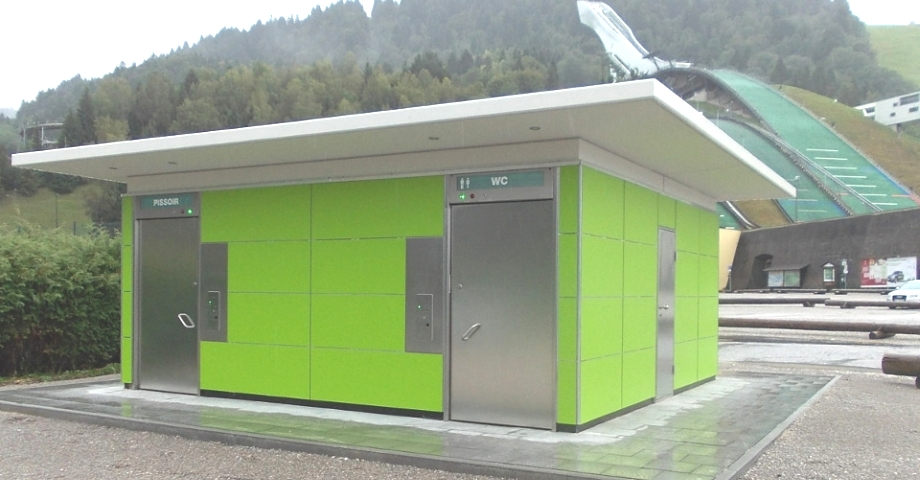 Openbare toiletten automatische toilettengebouw apt for Wc ontwikkeling